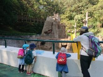 待望の動物園!