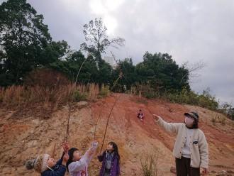 粘土公園(恐竜公園)へ探検